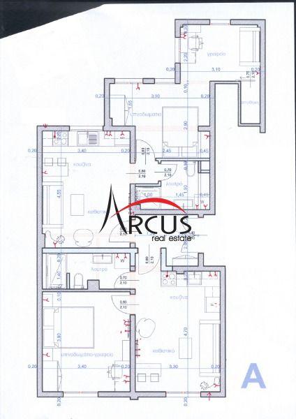 Κωδικός ακινήτου 302654 - Arcus Real Estate Θεσσαλονίκη