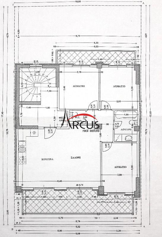 Κωδικός ακινήτου 305708 - Arcus Real Estate Θεσσαλονίκη